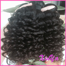 Specialized Human Virgin Hair Quality Brazilian Kinky Curly Hair Extension