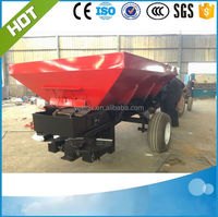 Top Quality tractor trailer fertilizer spreader/manure spreader