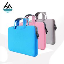 Factory neoprene computer 15.6 inch laptop sleeve with handle
