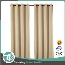 Modern ready made grommet curtain pattern Germany bedroom blackout curtain