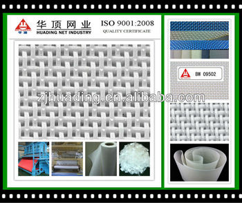 water soluble nonwoven forming belt