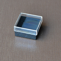 Small Square Plastic Box With Unhinged