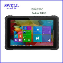 "Industrial Embedded Mini PC 7"" Inch Rugged Android Tablet RJ45 Ethernet Port window10"