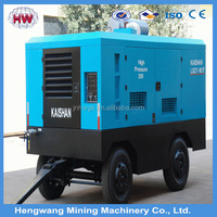 china-made 8KG 12 stere Portable diesel screw air compressor for sale mobile air compressor
