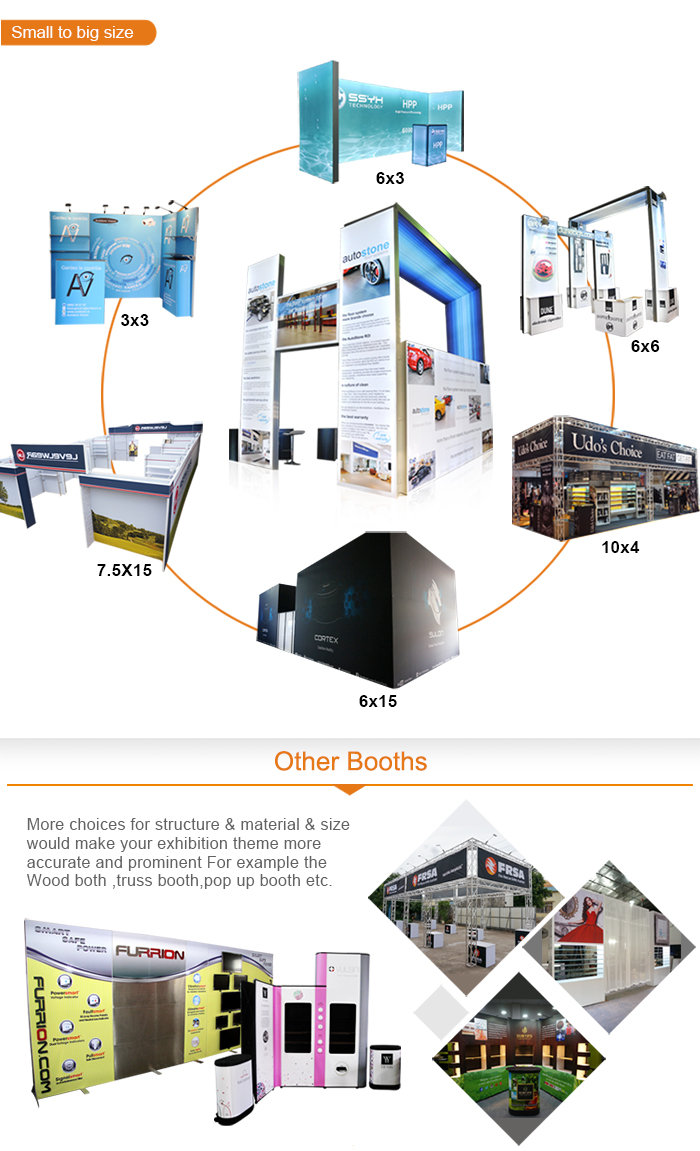 Exhibition Stand Weight : Customized light weight tradeshow booth trade show display
