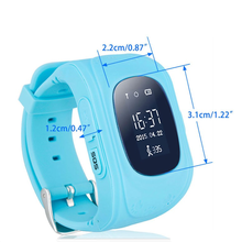 SIM Smart Watch Q50 Monitor Children GPS Tracking Device Safety Tracker Kid
