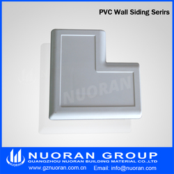 Anti-UV fascia plastics PVC ourdoor vinyl siding exterior wall coating decorative covering