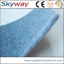 Polyester raw material needle punched best-selling velour carpet for car