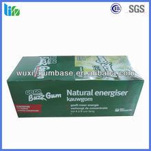 Hot selling Guarana energy Herbal Chewing Gum