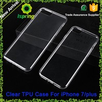 ultra thin crystal transparent tpu 0.9mm case for iphone 6, for iphone 6 tpu case, for iphone 6 cover case smartphone