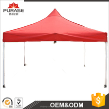 Hot selling full color printing logo aluminum frame and legs trade show folding gazebo tent