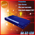 SK Brand Free call termination equipment 32 port 128 sim gsm voip goip gateway imei change sim server gsm gateway goip 32-128