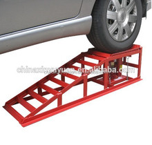 Portable car ramp for home garage