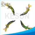 "2016 hot selling jointed lure pike muskie lure Kesun lure CH8J02F 8"" 75g"