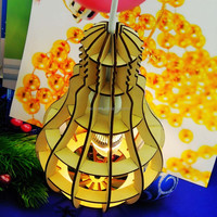 2015 New products wooden light lampshades for home decoration