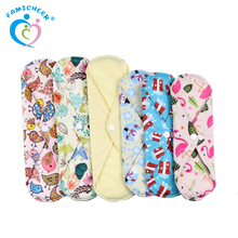 High Absorbtion Reusable Menstrual Pads Overnight Cloth Sanitary Pads Extra Long