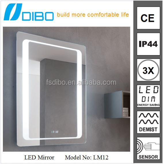 Dubai Bathroom Mirror Cabinet in Shower Room Barber Shop with LED Light Foshan China Manufactory DIBO
