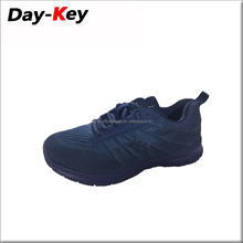 China factory men casual low heel fly fabric knit running shoes for girls