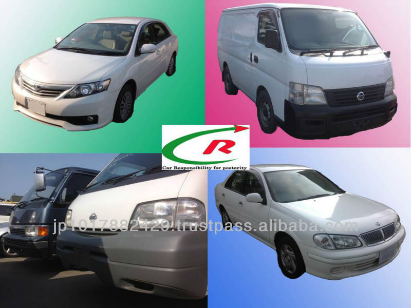 Used Passenger Car Parts for NISSAN and Other Brands Avilable from Japanese Distributor