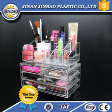 jinbao factory tip quality jewelry cosmetics acrylic beauty box