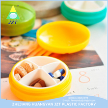 Wholesale Clear Cute Fancy Mini Pill Box,Plastic Pill Box,Child Proof Pill Box