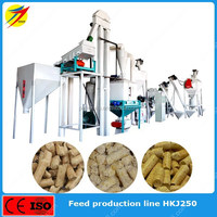 Small pellet feed mill for poultry livestock from factory supply for sale