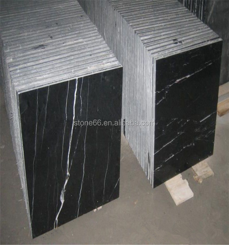 Stone tiles pink nero marquina honed for indoor and outdoor