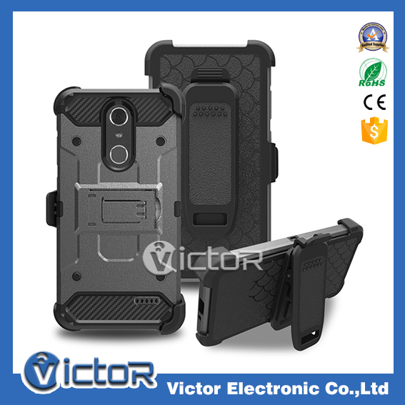 3 IN 1 holster belt clip wholesale cell phone case for ZTE Grand X4
