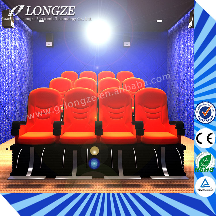 Well After-Sale Service 5D Theater Manufacturer Low Investment 4d motion cinema seat