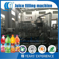 Aseptic Carrot/Orange/Apple/Pineapple Juice filling machine Monoblock 3in1 PET Bottle Filling Machine