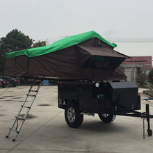 4x4 off road trailer with Roof Tent