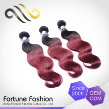 alli <strong>express</strong> dropshipper human hair bundles body wave, 2 tone red hair extensions