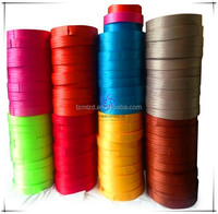 Polyester car seat belt webbing