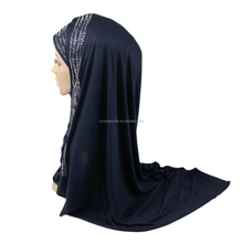 Fashion muslim hijab arabic style of soft smooth feeling jersey cotton hijab scarf