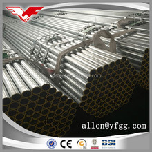 Construction Used Hot Dipped Galvanized Welded Steel Pipes Profile