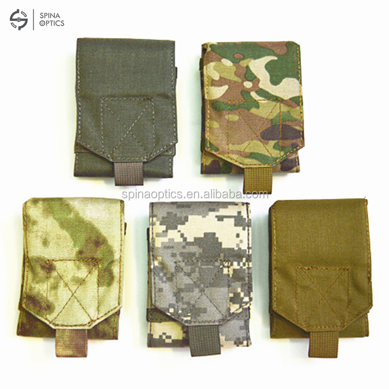 hacrin Outdoor Universal Phone Camouflage Bag <5.5inch Sport Pouch Belt Hook Holster Waist Case For Doogee T5 Blackview BV6000