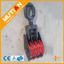 China Alibaba supplier for triple sheave heavy duty snatch pulley block