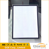Square aluminum Magnetic led light box for poster frame with 1500-2000lux brightness
