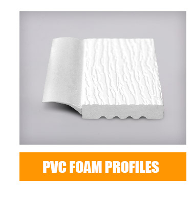 rigid pvc foam material for building lattice white