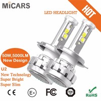 New Arrival CREEs Car Auto Top Quality Motorcycle And Car U2 LED headlight