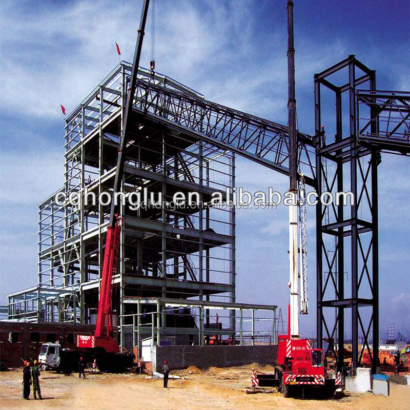 High-rise Steel Building Construction