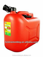Customized plastic jerry cans/ Gasoline diesel fuel container with tube 1L/4L/5L/10L/20L