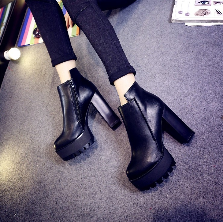 zm21916a Fashion women shoes autumn winter ladies ankle boots