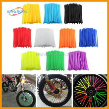 72Pcs Universal Motocross Dirt Bike Enduro Wheel Rim Skins Cover motorcycle spoke wheels
