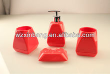 Christmas Acrylic Bathroom Accessory Sets