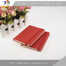 China Supplier High Quality Clear Cover Notebook
