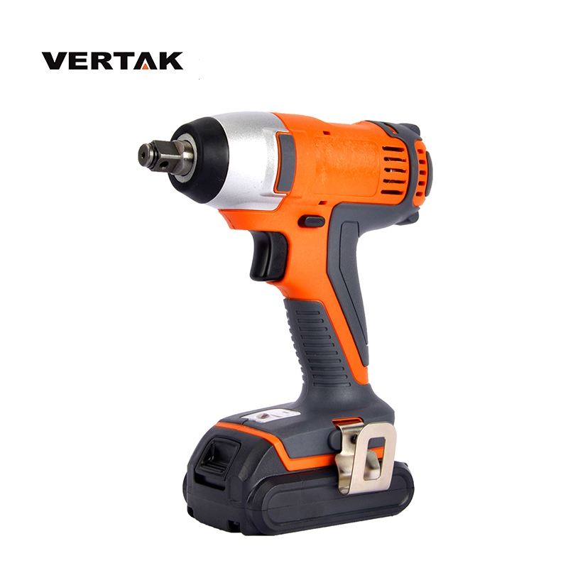 VERTAK professional 18V cordless impact wrench With 2000mAH Battery and Fast Charger