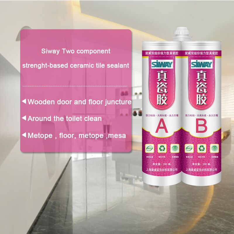 nice colour Ceramic Tile Epoxy Sealant for Ceramic Tile with double tube