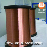 New science and technology diameter 1.219mm enameled copper clad aluminium(ECCA) winding wire