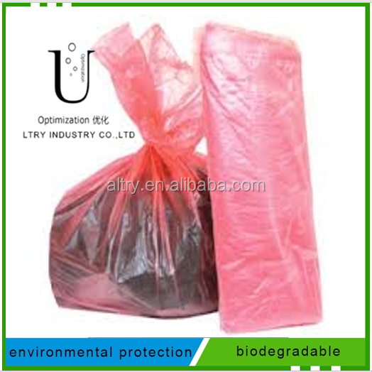 100% Environmental Friendly Hot Water Soluble Laundry Bag for Infection Control